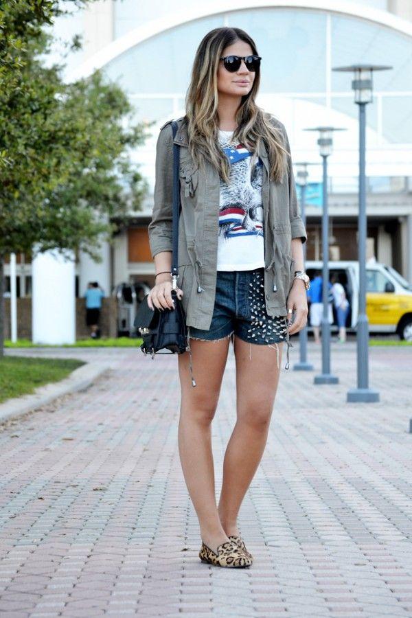 Foto do blog http://www.blogdathassia.com.br/  - usando camiseta