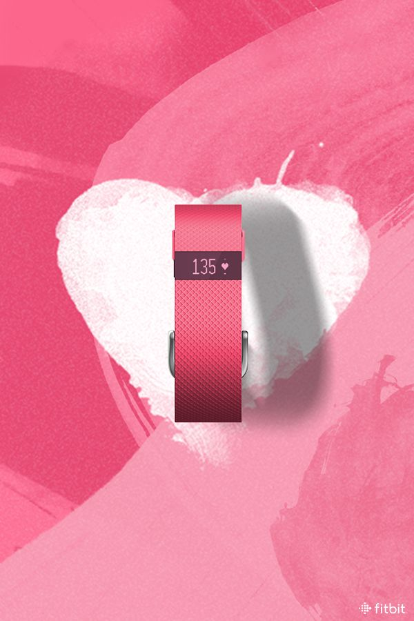 Pink is where the heart is. Say hello to the newest shade of Charge HR.