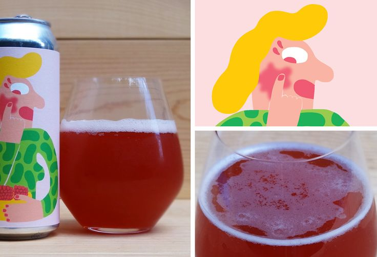 Our review of Mikkeller Raspberry Blush, a Berliner style Weiss beer brewed with raspberries and coffee by Mikkeller Brewing San Diego.