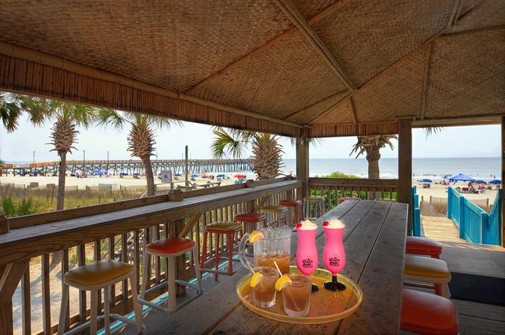 Scotty's Beach Bar, Surfside Beach (near Myrtle Beach), South Carolina.