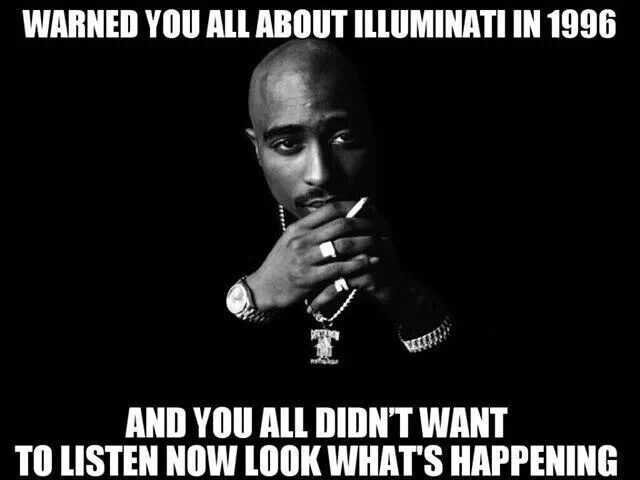"""..ILLUMINATI............You was right pac, you was right. #illuminati #2pac Click Image to Read the Poem """"The Weight"""" New Hip Hop Beats Uploaded EVERY SINGLE DAY http://www.kidDyno.com"""