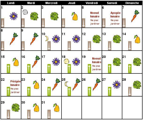 Date D Anniversaire Calendrier Lunaire Inspirational Jardiner Avec