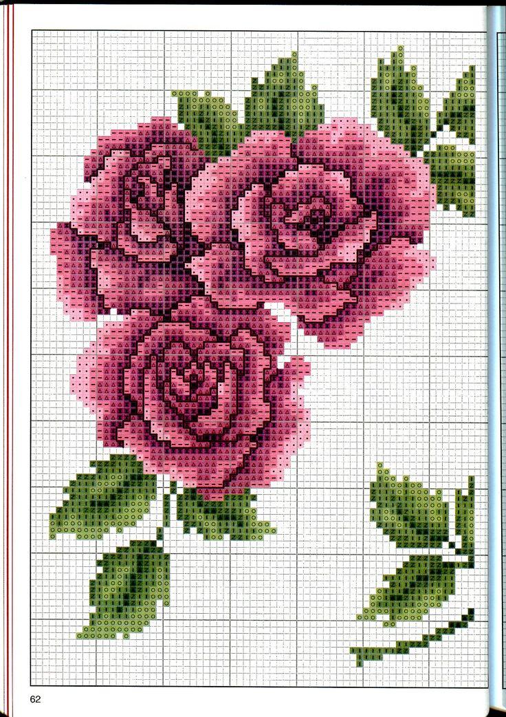 Rose DMC 1/2