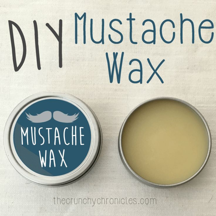 Beards are a total trend lately - and for good reason, they're awesome! But they also require some upkeep, and this DIY mustache wax is perfect as a styling balm, to condition facial hair, and tame frizz! (And it's not JUST for your mustache!)