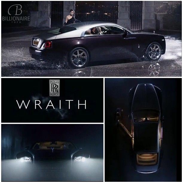 All NEW Rolls Royce Wraith - instagram @Billionaire Toys.  http://www.annabelchaffer.com/categories/Dining-Accessories/