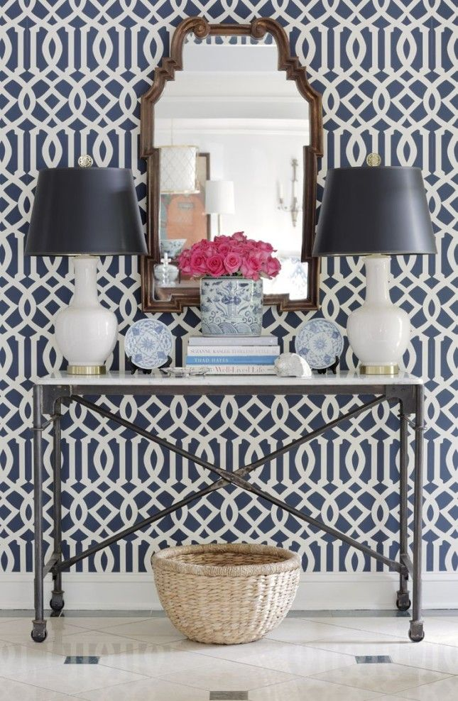 F Schumacher Co Imperial Trellis | Top 10 Entryway Wallpapers | McGrath II  Blog