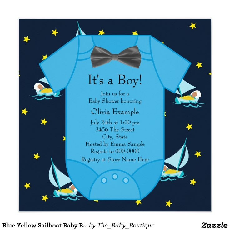 60 best Nautical Baby Shower Invitations Ideas images on Pinterest ...