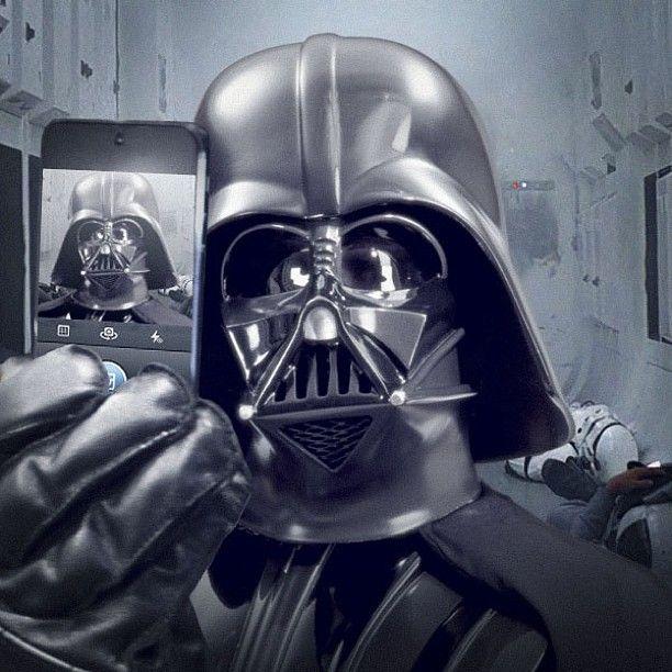 Star Wars joins Instagram and posts Darth Vader selfie
