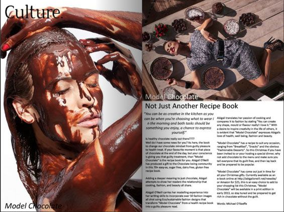 @Maureen Delaney CHOCOLATE in Fashion Weekly Issue 2
