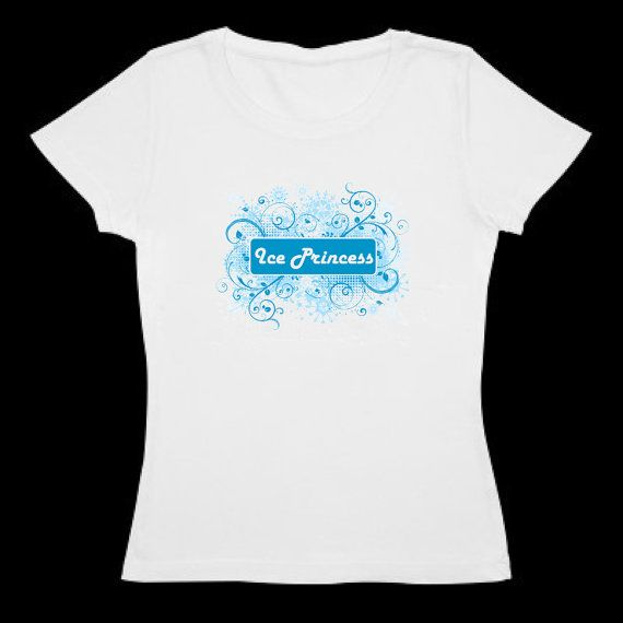 Woman's figure skating shirt - Ice Princess