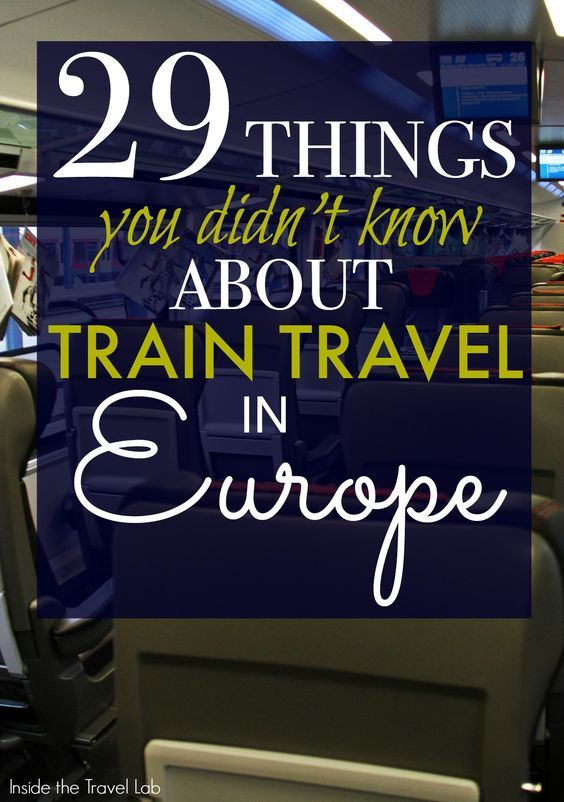 Tips  tricks and trivia about travelling by train in Europe  arguably the best  and most scenic  way to get from point A to B  Via  insidetravellab http   www insidethetravellab com train travel in europe