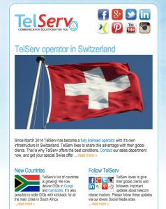 Subscribe to the #free TelServ newsletter! Don't miss out on #telecom #news!