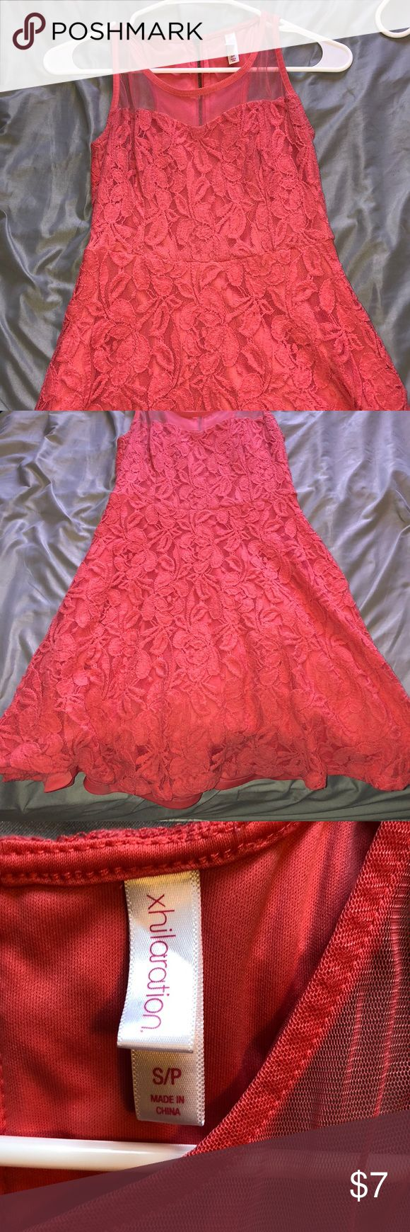 Neon pink dress Worn once:) great condition Dresses