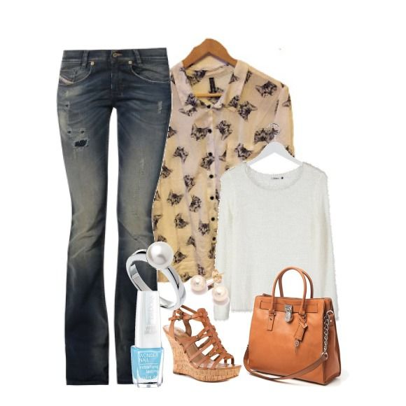 Cat shirt outfit