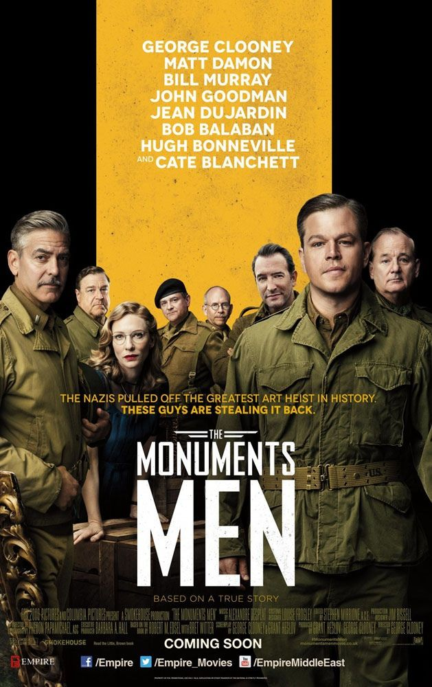 The Monuments Men... want to see this!