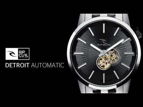 Rip Curl Detroit Automatic Watch: Powered by Nature