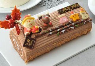 Een kerstbuche met chocolade en praline, wat wilt u nog meer?