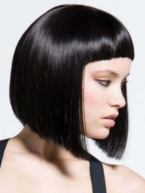 стрижка боб с челкой на короткие волосы » НаВсе100, женский сайт для женщин, маникюр, педикюр, макияж, фитнес, здоровье и другое.