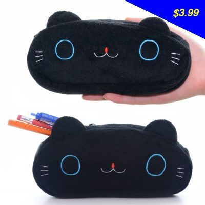 Have you seen this product? Check it out! Cute Black Mr Cat Plush Square Girls Pencil Bag Case Stationery18*9*3cm New Free Shipping # - US $3.99 http://outletshopping6.org/products/cute-black-mr-cat-plush-square-girls-pencil-bag-case-stationery1893cm-new-free-shipping/
