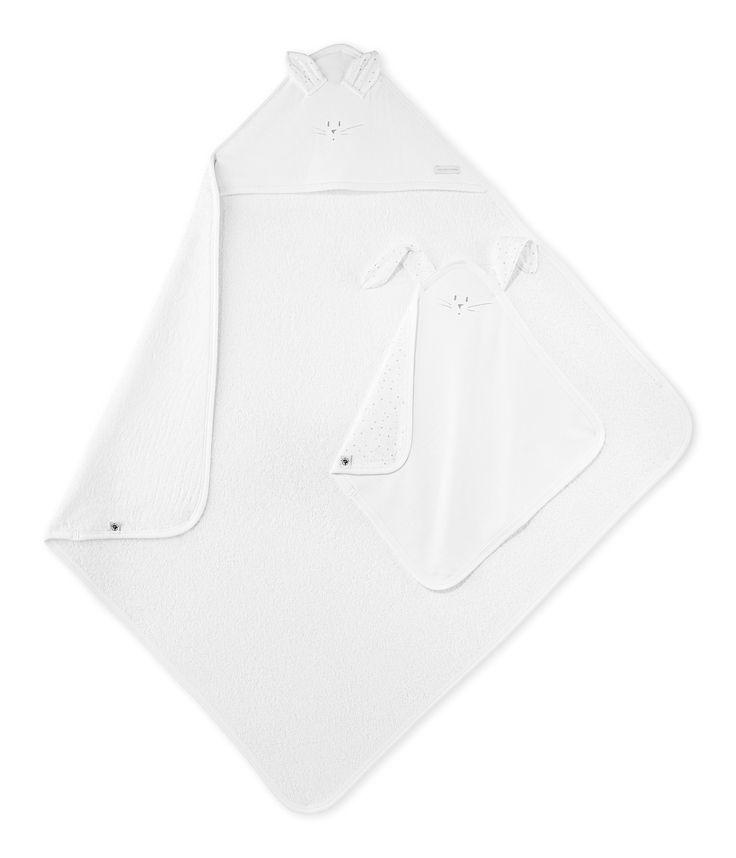 Coffret carré de bain bébé et doudou blanc Ecume / jaune Dore. Retrouvez notre gamme de vêtements et sous-vêtements pour bébé, enfant, mode femme et homme.