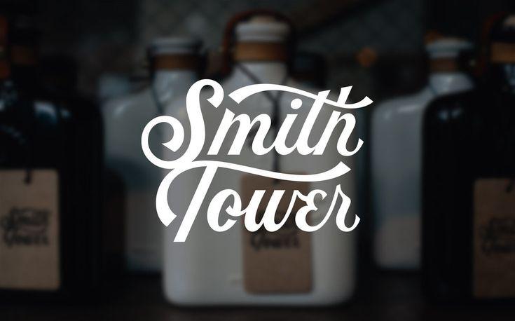 Smith Tower   Branding — Nicolas Fredrickson Omaha, NE Lettering