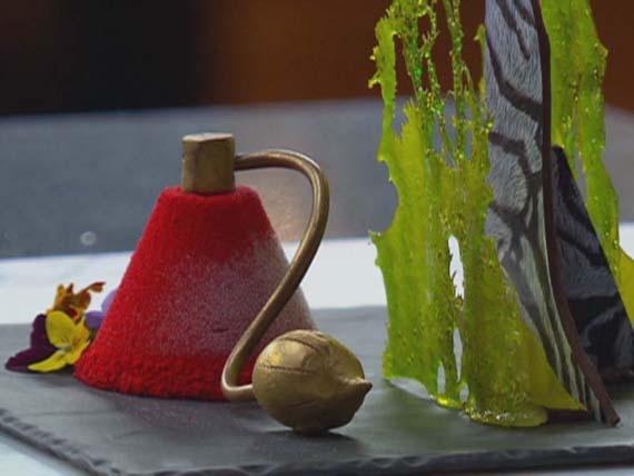 A creation by pâtissier Vincent Gadan