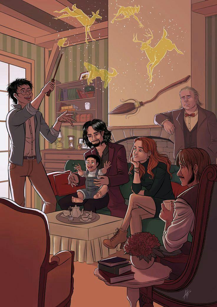 Fan Art Harry Potter Art Fan Harry Potter Baby Babyphotos Photosbaby Blondebaby Blackbaby Cu Harry Potter Esprileri Harry Potter Fanlari Hogwarts