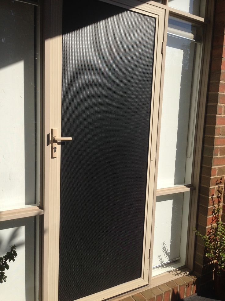 2 Way Screen Door : Best security screen doors ideas on pinterest