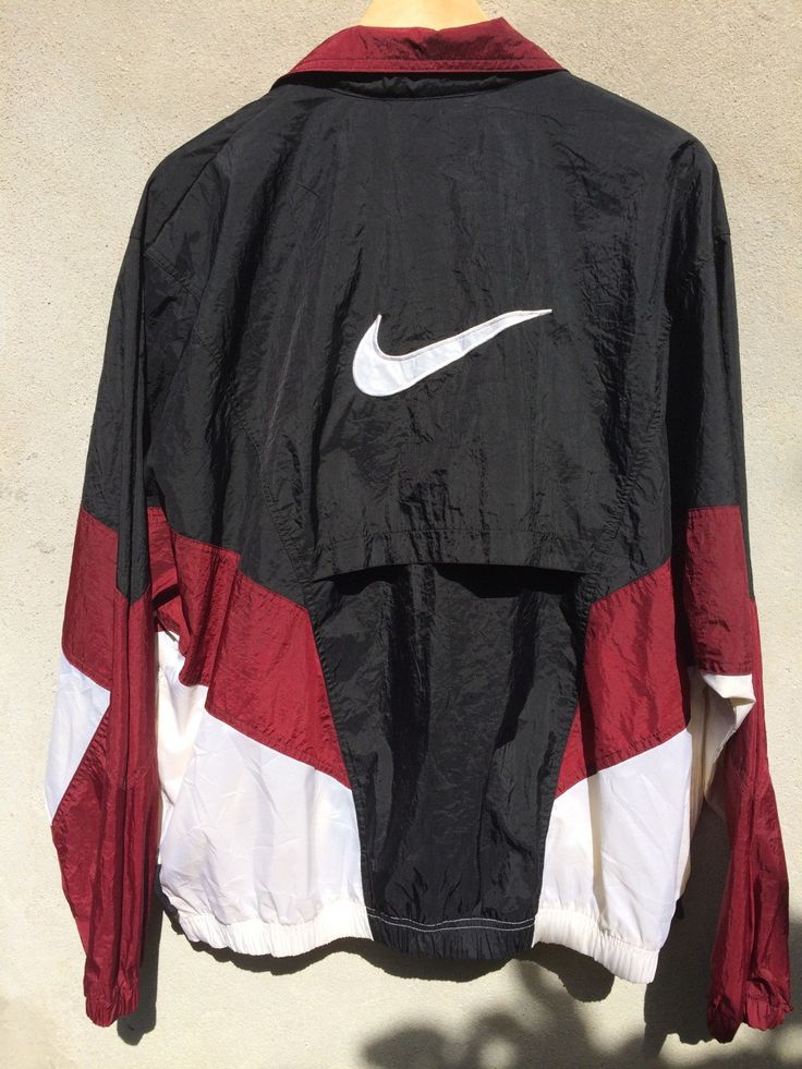 VINTAGE 90S NIKE WINDBREAKER SWEATER JACKET on The Hunt