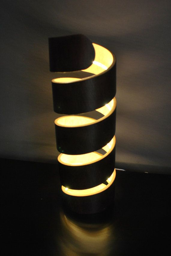 Wonderful DNA Led Lamp Is Made Of Bent Plywood, And Like The Rest Of My Lamps Has An  Unique Form. Over 2 Meter Led Stripe Gives A Room A Lot Of Light With ... Great Pictures