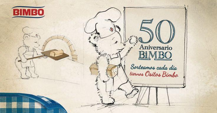 Sorteo 50 Aniversario - Ositos Bimbo