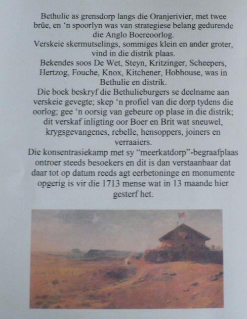 Buy Bethulie en die Anglo-Boereoorlog deur Trudie Venterfor R210.00