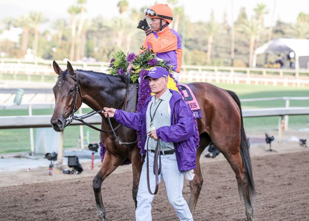 Beholder edges out Songbird in Distaff : International Horse Breeding and Racing news updated daily, www.thoroughbrednews.com.au