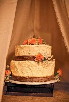 Rustic Wedding Cakes For Fall