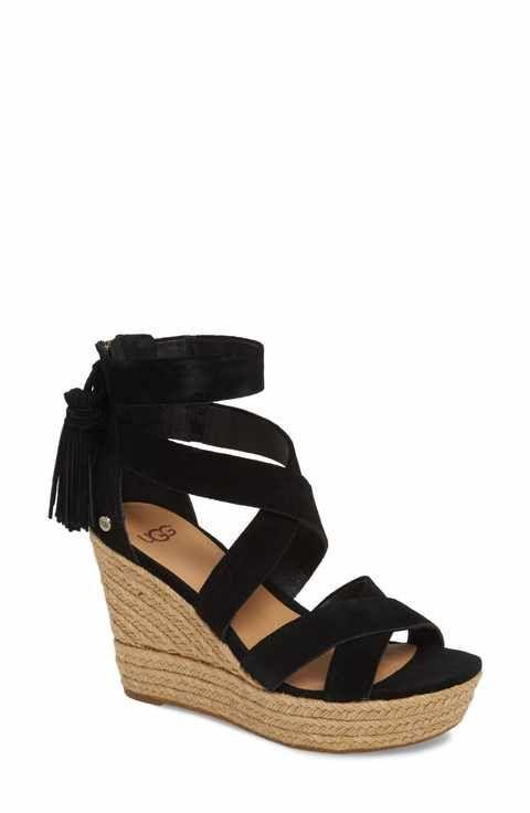 ecbf8e7cd49 UGG Raquel Platform Wedge Sandal (Women)