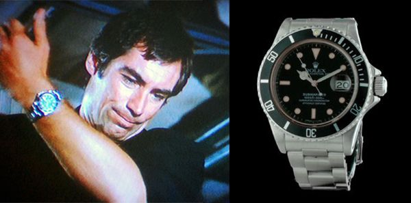 The Living Daylights (1987) – Rolex Submariner 16800/168000 - Timothy Dalton