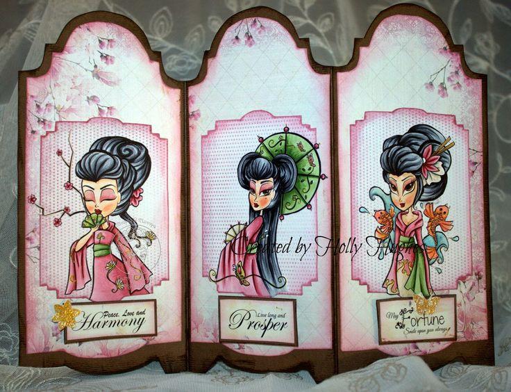 DB Craft Girls: The Geisha Girls Have Arrived!!