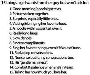 What every girl wants   Quotes and Sayings.   Pinterest
