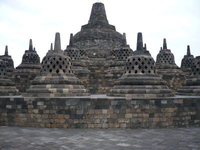 Borobudur Temple, what an amazing buddhist temple