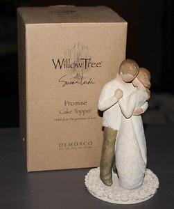 Willow Tree Promise Cake Topper Husband Wife Wedding Figurine  EBay