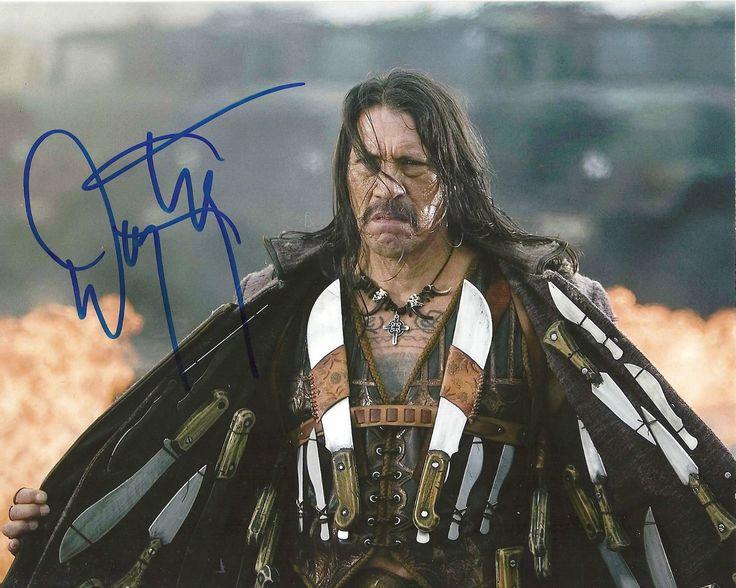 Danny Trejo Machette Machette Kills Signed 8x10 Picture Coa 2 Ebay In 2021 Danny Trejo Actors Spy Kids