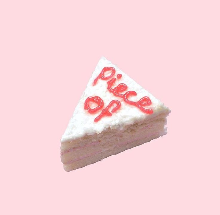 // omg I thought this was pie and was like 'piece of pie' what? but then I realized this was cake and I was like oh that makes more sense. true story