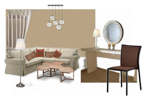 Check out this moodboard created on @Cheryl Brogan: beige living room by chrisdim