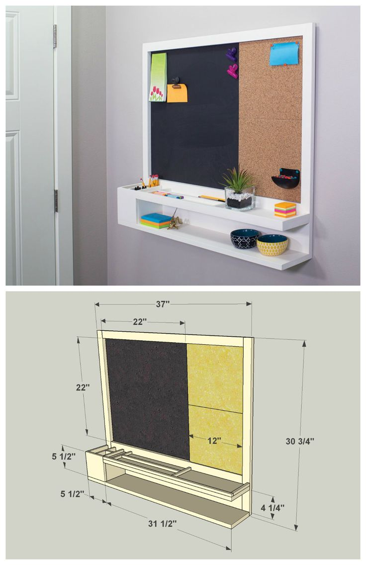 DIY organizador de pared