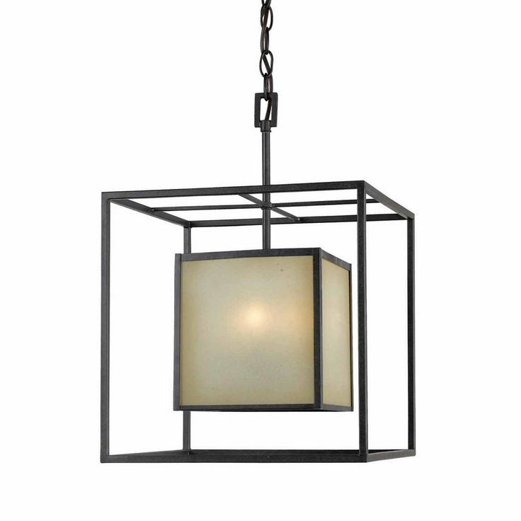 World Imports WI411555 4 Light Hilden Small Square Foyer