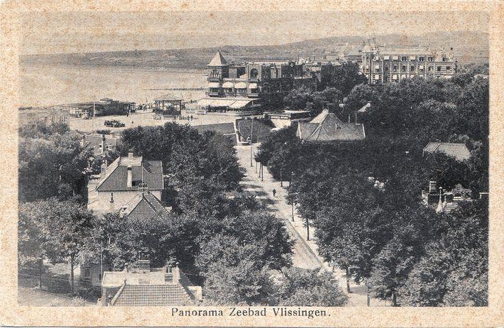 Vlissingen Zeebad en face de breskens NL (lilas59) Tags: old postcard nederland netherland paysbas oud ancienne postkarte alte cartepostale ansichtskarten postkaarten briefkaart