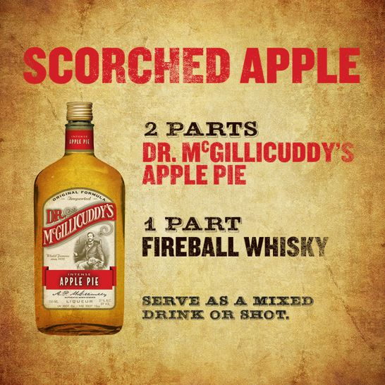 "Dr. McGillicuddy on Twitter: ""Dr. McGillicuddy's Apple Pie + ..."