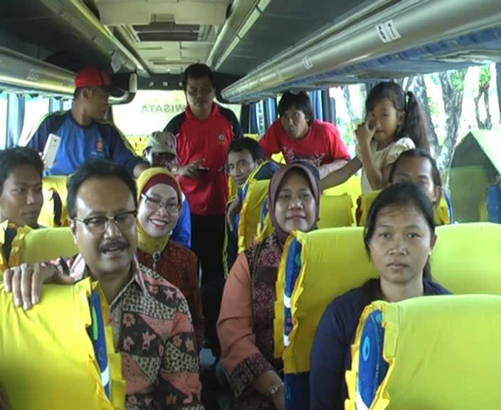 17 Anggota Gafatar Asal Jawa Tengah Dipulangkan dari Transito