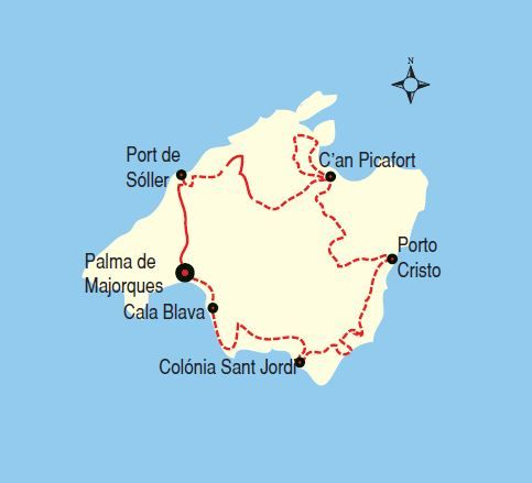 Majorque à Vélo - Baleare Voyage - Voyage Majorque à Vélo - Grand Angle