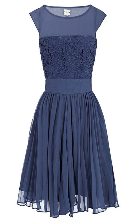 new york shop online Reiss Embroidered Dress  Fierce Fashion